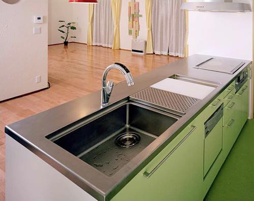 キッチン本体の収納