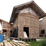 竹小舞-土蔵造り・移築と新築